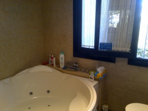 Main bathroom jacuzzi